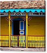 Colorful Building Canvas Print