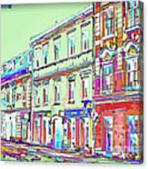 Colorful Buildings Canvas Print