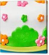 Colorful Cake Canvas Print