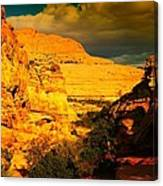 Colorful Capital Reef Canvas Print