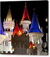 Colorful Castle Canvas Print