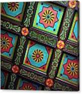 Colorful Church Ceiling Canvas Print
