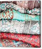 Colorful Cloths Canvas Print