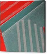 Colorful Concrete Steps Canvas Print