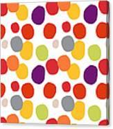 Colorful Confetti  Canvas Print
