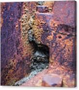 Colorful Corrosion 2 Canvas Print