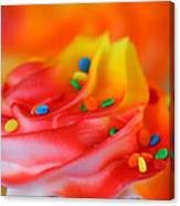 Colorful Cup Cake Canvas Print