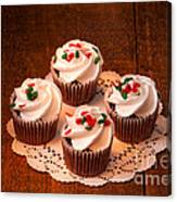 Colorful Cupcakes Canvas Print