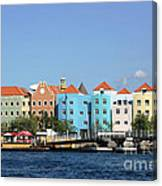 Colorful Curacao Canvas Print