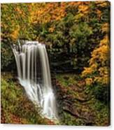 Colorful Dry Falls Canvas Print