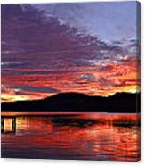 Colorful Evening Canvas Print