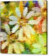 Colorful Floral Abstract II Canvas Print