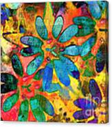 Colorful Floral Abstract IIi Canvas Print
