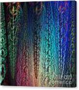 Colorful Garlands Canvas Print