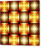 Colorful Geometric Collage Canvas Print