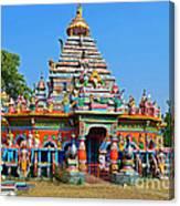Colorful Hindu Temple Canvas Print