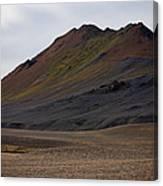 Colorful Icelandic Mountain Canvas Print