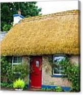 Colorful Irish Cottage Canvas Print