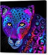Colorful Jaguar Canvas Print