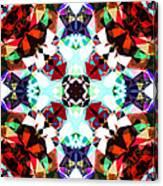 Colorful Kaleidoscope Creation Canvas Print