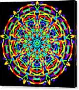 Colorful Kolide  Canvas Print