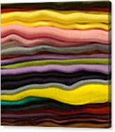 Colorful Layers Canvas Print