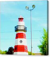 Colorful Lighthouse 2 Canvas Print