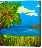 Colorful Marsh Canvas Print