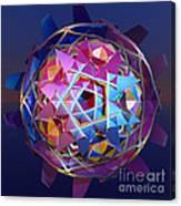 Colorful Metallic Orb Canvas Print