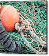 Colorful Nautical Rope Canvas Print