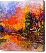 Colorful Night.. Canvas Print