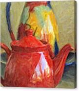 Colorful Pottery Canvas Print