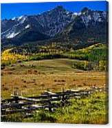 Colorful Ranch Canvas Print