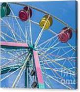 Colorful Ride Canvas Print