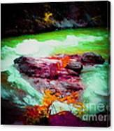 Colorful River Canvas Print