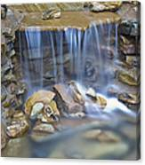 Colorful Rocks And Water Canvas Print
