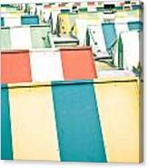 Colorful Roofs Canvas Print