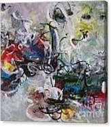 Colorful Seascape Abstract Landscape Canvas Print