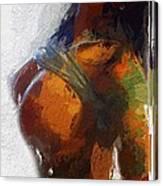 Colorful Seduction Canvas Print