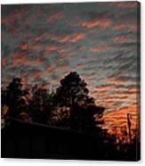 Colorful Sky Number 5 Canvas Print