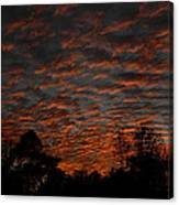 Colorful Sky Number 7 Canvas Print