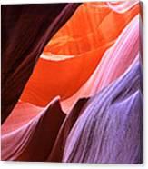 Colorful Slot Canyon Canvas Print