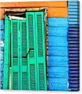 Colorful Slum Canvas Print