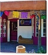 Colorful Store In Albuquerque Canvas Print