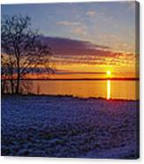 Colorful Sunrise Canvas Print