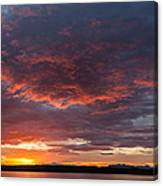 Colorful Sunset, Snaefellsnes Canvas Print