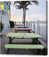 Colorful Tables Canvas Print