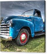 Colorful Workhorse - 1953 Chevy Truck Canvas Print