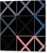 Colorful X Box Canvas Print