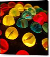 Colorfull Marbles Canvas Print